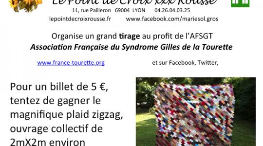 Tirage au sort au profit de l'AFSGT à Lyon