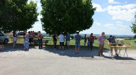 Retour sur la réunion relais d'Anjou en Isère du 25 juin 2017