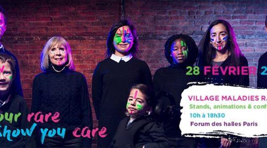 Rare Disease Day 2018 : Village des maladies rares